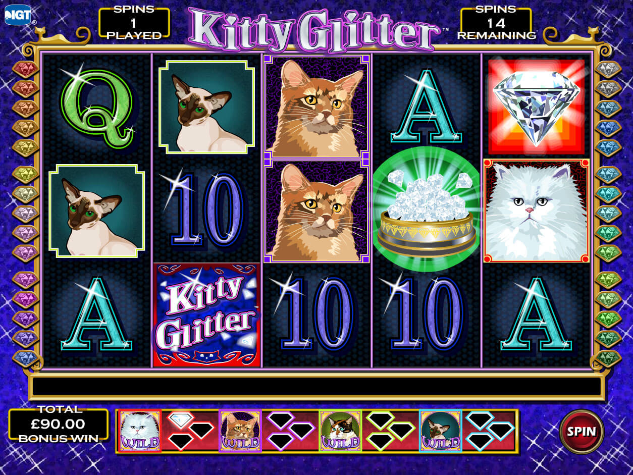 Snapshot from game: Kitty Glitter
