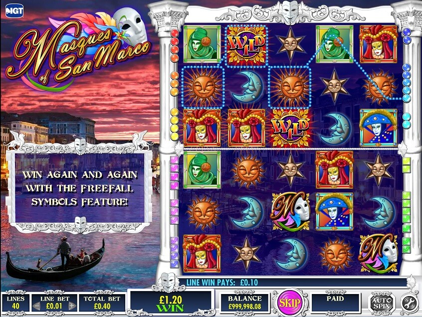 Snapshot from game: Masques of San Marco