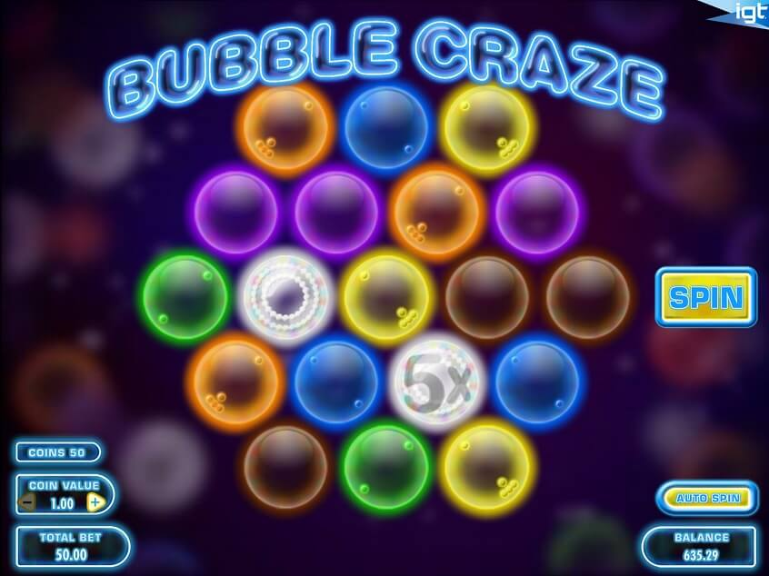 Snapshot from game: Bubble Craze