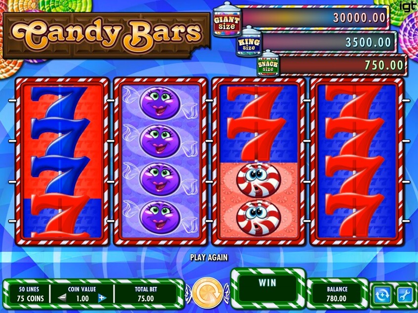 Snapshot from game: Candy Bars