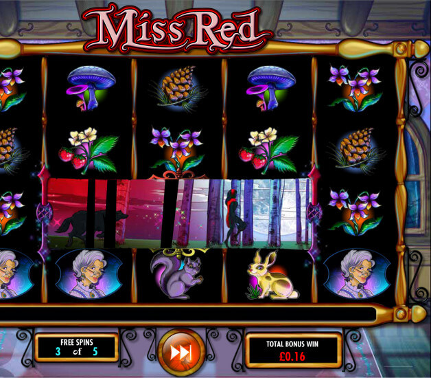 Screenshot from game: Miss Red