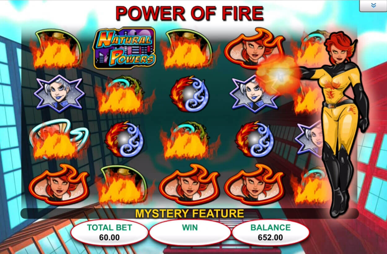 Screenshot from game: Natural Powers