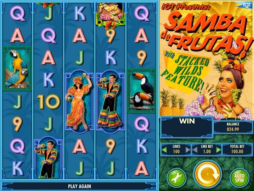 Snapshot from game: Samba de Frutas