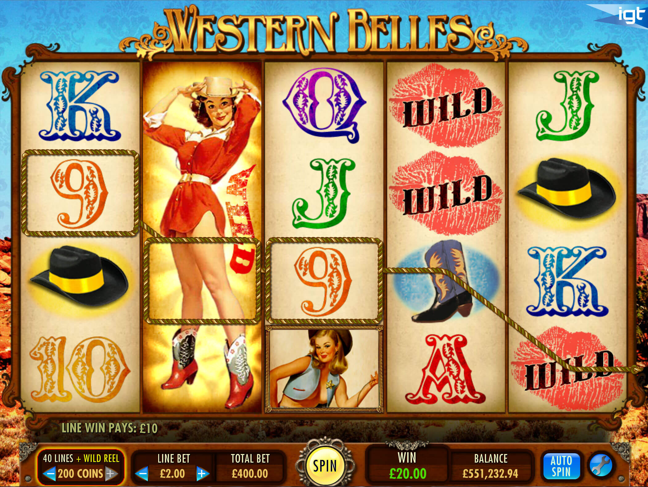 Screenshot from game: Western Welles