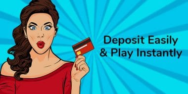 How to deposit and play