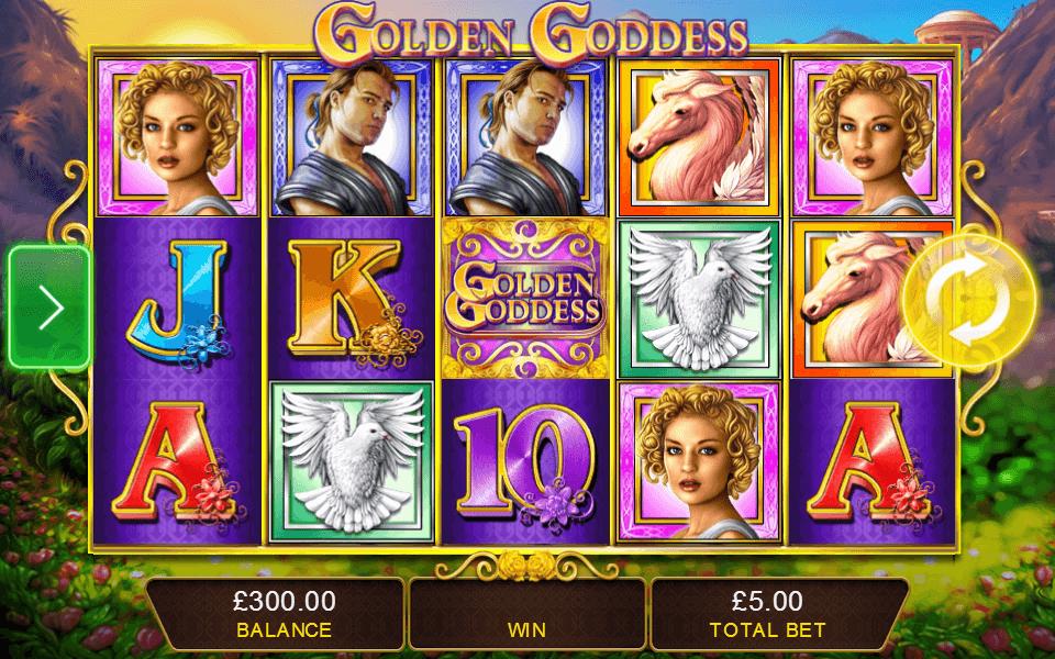 Golden Goddess (IGT) - Progressive slot Review 2
