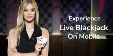 Experience the range of emotions that live blackjack generates 4