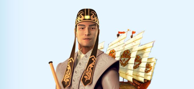 Zheng He: here you can see the main character