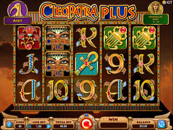 Cleopatra Plus Mobile Slot Game | LadyLucks Mobile Casino
