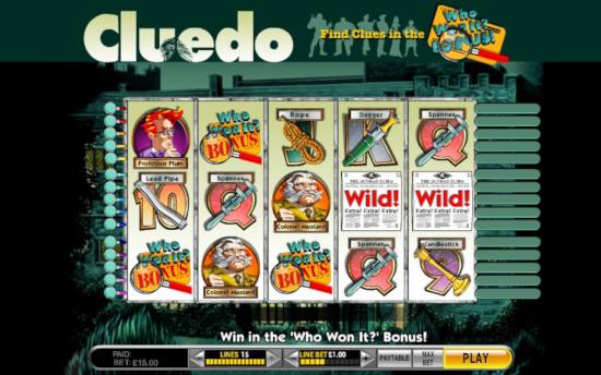 Best Franchise Slots - Cluedo screenshot