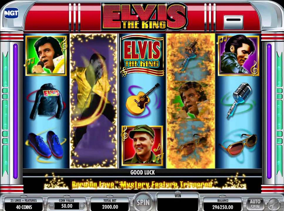 Best Franchise Slots - Elvis The King screenshot