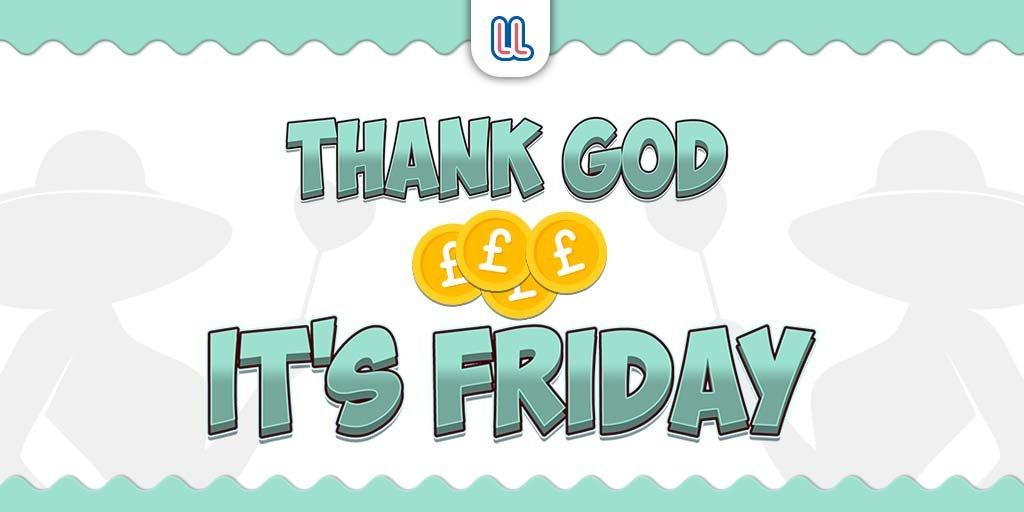 Thank God it's Friday! 1