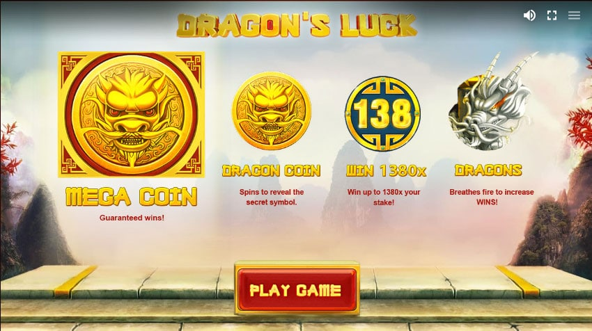 Dragon's Luck special features