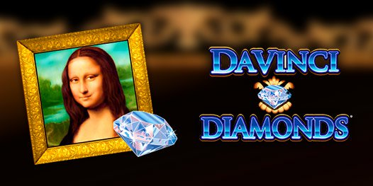 Da Vinci Diamonds slot game
