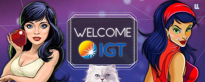 We're welcoming back IGT!