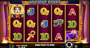 Ancient Egypt slot machine by Pragmatic Play