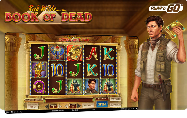 Book of Dead slot by Play'n GO