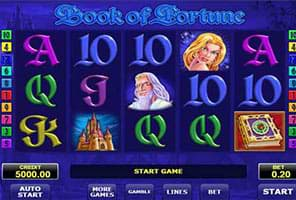 Book of Fortune slot machine by Amatic