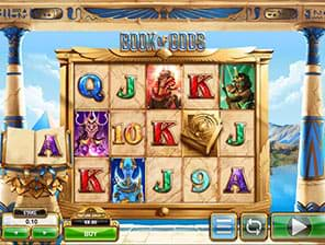 Book of Gods slot machine by Big Time Gaming