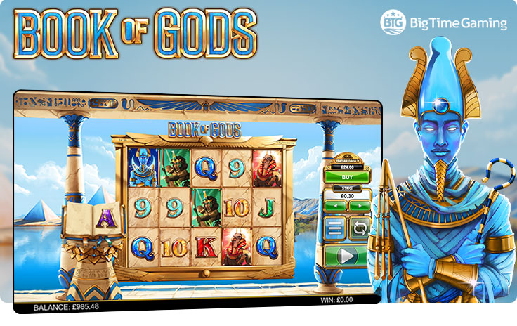 Book of Gods by Big Time Gaming