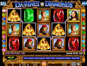 Da Vinci's Diamond slot machine