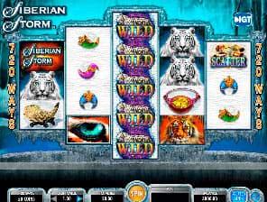 Siberian Storm slot machine