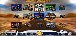 Harley Davidson Freedom Tour slot machine