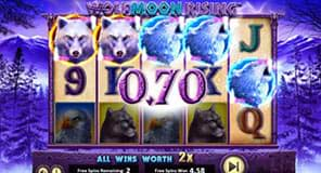 Wolf Moon Rising free spins