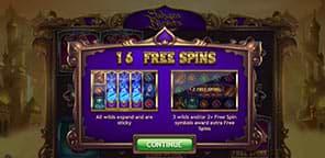 Sahara Nights yggdrasil slot screenshot