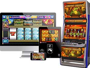 Slot machines designed by DWG Group licensed in the UK