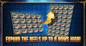 Expand the reels on Pegasus Rising