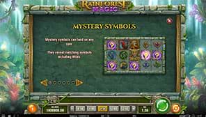 Rainforest Magic Mystery Symbols