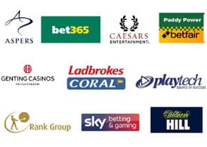 Leading UK Operators who have signed Safer Gambling Commitments
