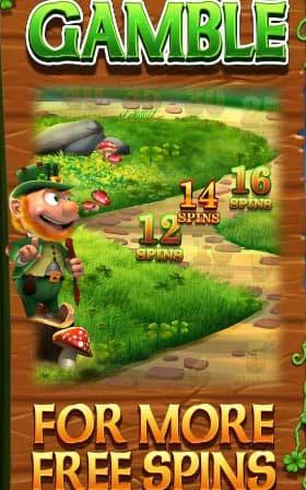 Wish Upon a Leprechaun Megaways Gamble feature