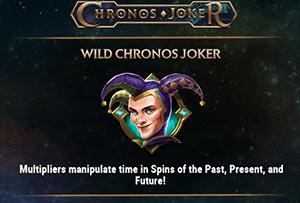 Wild symbol on Chronos Joker