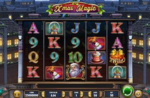 Screenshot of the game Xmas Magic