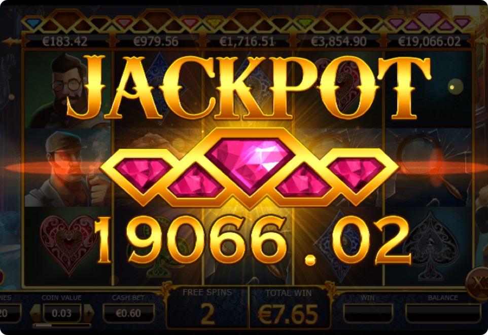 Slots game jackpot