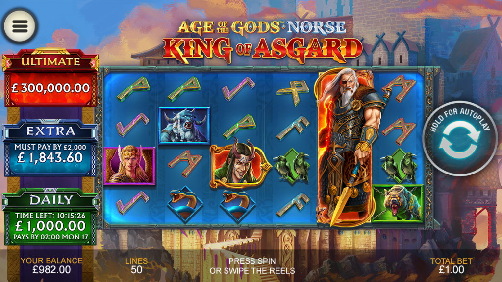 Age of The Gods Norse: King of Asgard 1