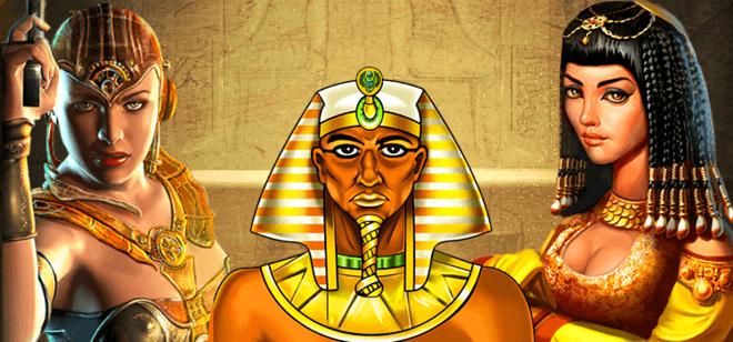 All British Casino - Egypt Themed Slots