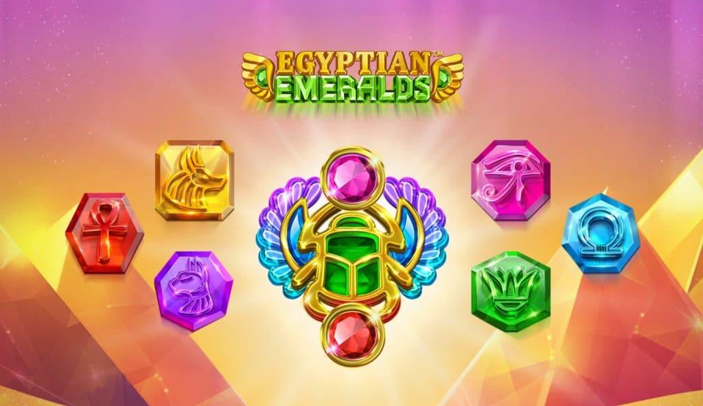 Egyptian Emaralds slot by Playtech