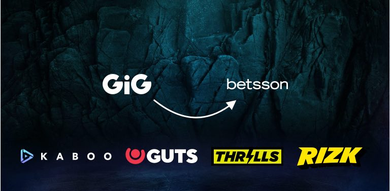 Gig Sells Casinos to Betsson
