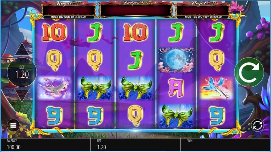 Angel Princess slot screenshot