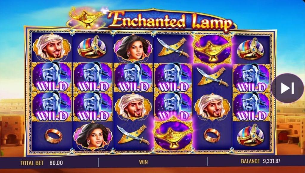 Enchanted Lamp screenshot