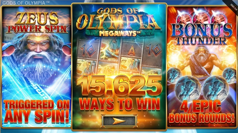 Gods of Olympia features