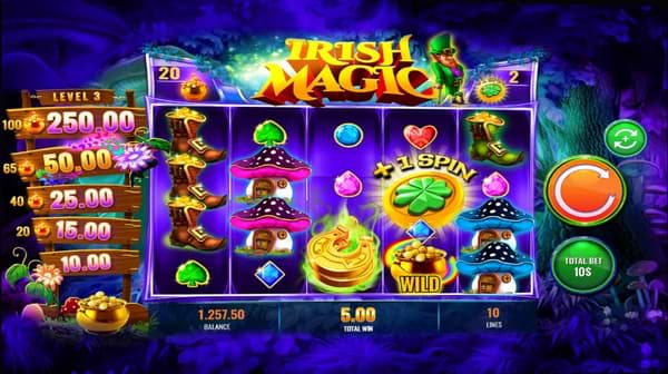 Irish Magic slot by IGT