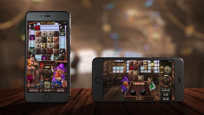 Jolly Dicers slot mobile screenshots