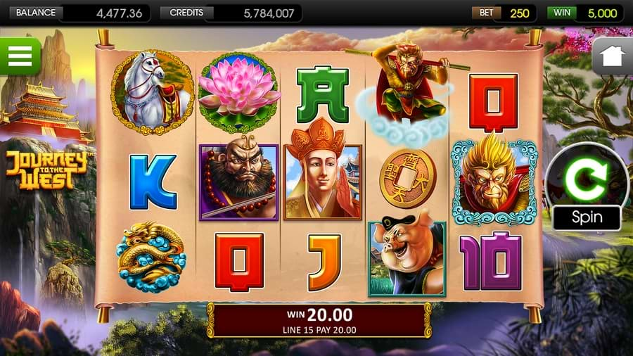 Journey To The West slot screenshot