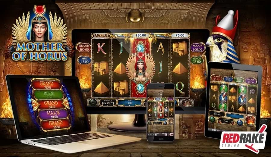 Mother of Horus available on desktop and mobile platforms