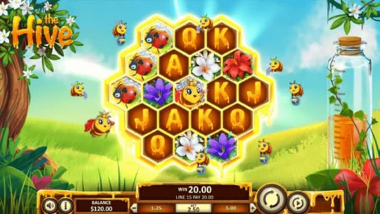 The Hive slot screenshot