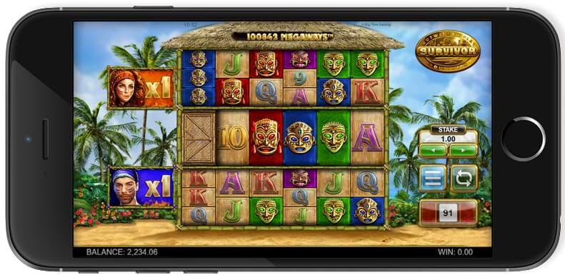 Survivor Megaways™ mobile screenshot